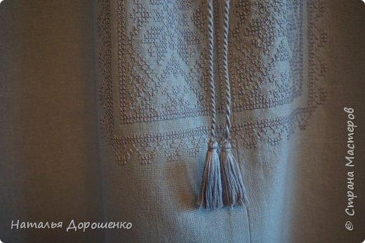 """Вишиванка-мечта, """"сапожник с сапогами"""". материал блузки-лен. фото 15"""
