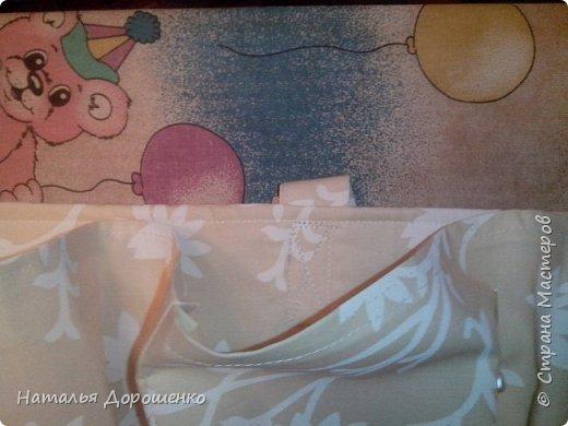 Органайзер для крестника(или скорее для мамы кумы) фото 6