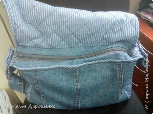 Джинсовая сумка вышитая фото 22