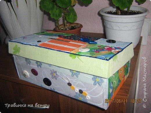Коробочка для швейных принадлежностей.Для знакомой. фото 2