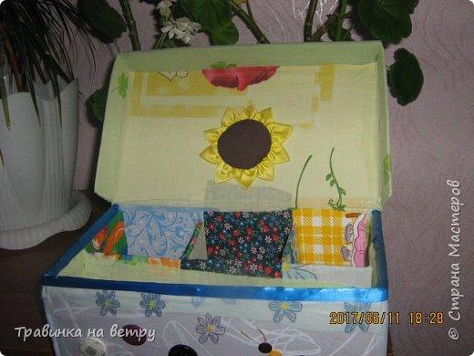Коробочка для швейных принадлежностей.Для знакомой. фото 3