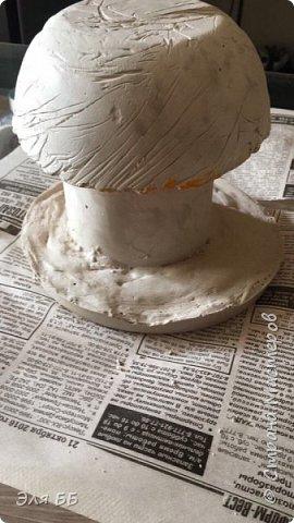 Решила я украсить дачу поделками из гипса. Вот, что у меня получилось! фото 11