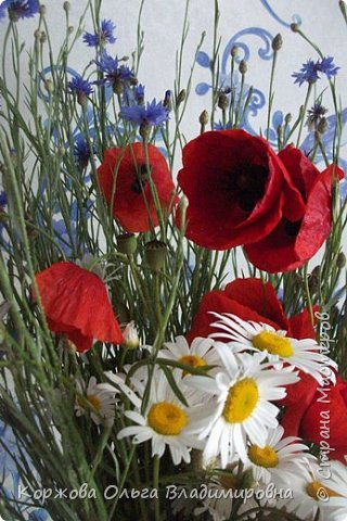 Букет полевых цветов Ставрополья. фото 1