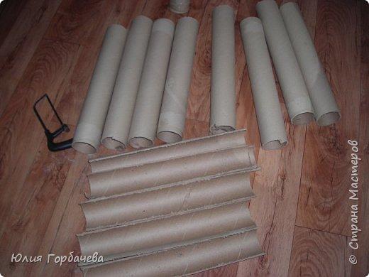 Бамбук из картонных труб. фото 4