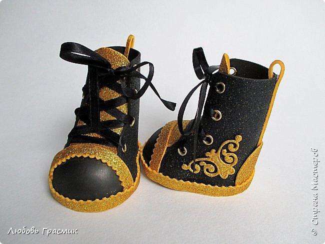 Ботиночки из фома фото 5