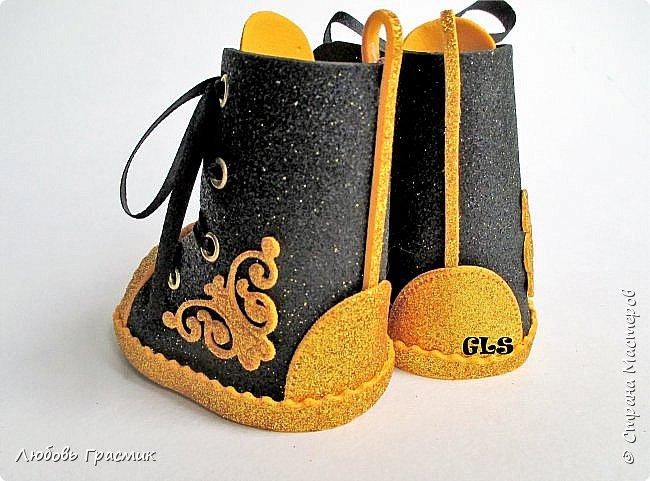 Ботиночки из фома фото 3