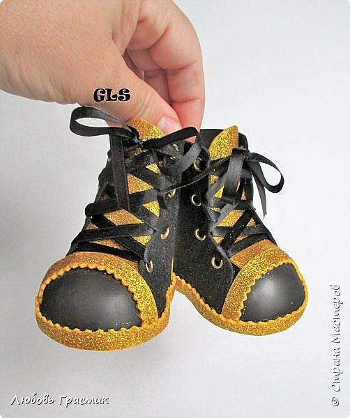 Ботиночки из фома фото 2