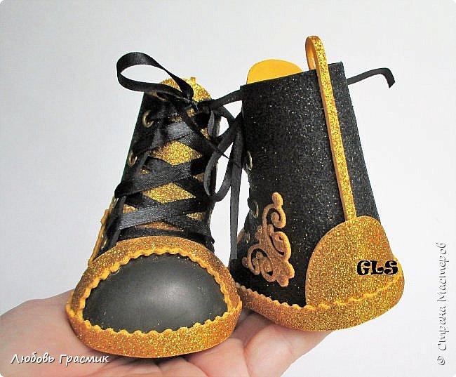 Ботиночки из фома фото 4