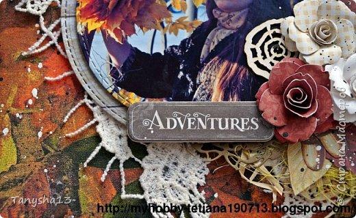 """Всем привет!!! Сегодня еще хочу показать Вам небольшой МК как я делала свое тканевое панно по Доске вдохновения июня  """"Я Женщина!"""" для блога Скрап Релакс.Панно я сделала  в моем любимом ЭКО стиле,и с одной из любимых фотографий,вернее о памятных моментах того прекрасного октябрьского дня.Погода стояла волшебная,желтые листья лежали ковром,и мы с семьей решили выйти на маленькую фотосессию.На этой фотографии глядя в даль,я задумалась о прекрасном,о новых начинаниях и приключениях которые ждут меня впереди )))).      Размер панно 18 см * 21 см,в работе использовала переплетный картон,синтепон,ткань,вырубку,высечки,шишки,стеклянный камушек,чипборд,сизаль,кружево,цветочки,акриловая краска. Вот такое панно у меня получилось: фото 30"""
