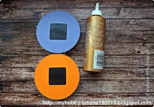 """Всем привет!!! А я снова вернулась ))).Сегодня покажу Вам """"Мини-МК Магнитов"""" на холодильник,который я сделала для нашего бложика Art Land. Вот такие круглые магнитики я сделала (можно их делать любой формы,прямоугольные,квадратики,звездочки,сердечки ....), размер их 12 см (в диаметре). В работе использовала нашу бумагу из новой коллекции """"Мои вкусняшки"""", а также фишки и высечки. фото 19"""