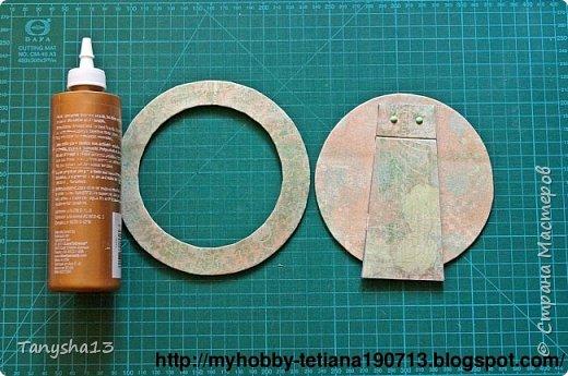 """Привет - привет!!! Еще хочу показать Вам небольшой МК по круглой фоторамке """"Зайке"""".Кто меня уже знает,наверное заметили как я люблю фоторамки,а особенно рамочки разных нестандартных форм (да и стандартные я также обожаю))) ).А еще я обожаю круглую форму )))).И вот сегодня я решила показать как я их делаю.Давайте посмотрим что мы будем делать,а делать мы будем вот такого зайку: фото 20"""