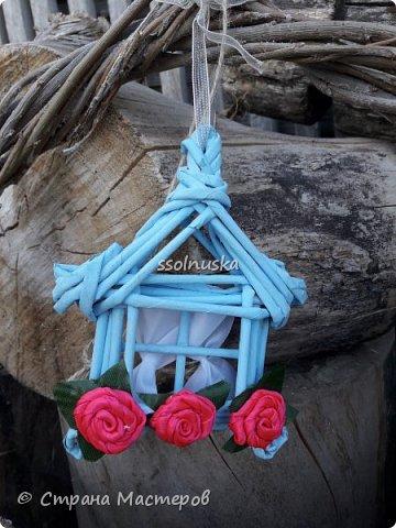 Всем привет!  Задумывался прекрасный домик- а получилось хижина! Задумывался летним, но скорее всего он зимний. Так как он первый- имеет право на жизнь!  :) фото 6