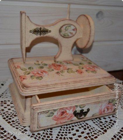 Комод-швейная машинка. фото 4