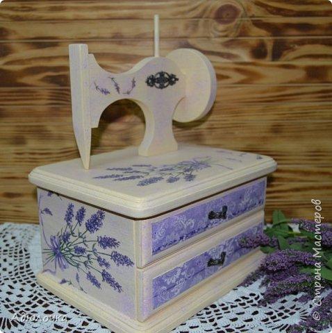 Комод-швейная машинка. фото 1