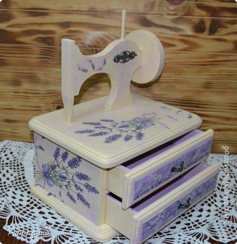 Комод-швейная машинка. фото 2