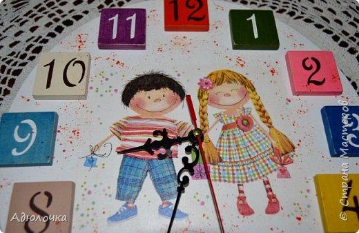 Часики для детской студии фото 1