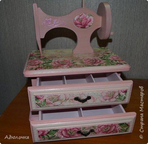 Комод-швейная машинка. фото 5
