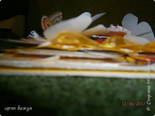 Открытка сделана в подарок на день рождение. фото 4