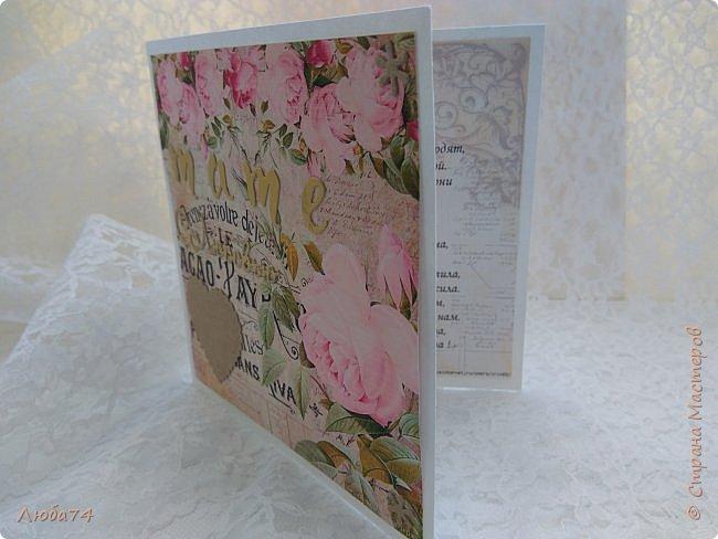 Всем, доброго дня! Хочу показать вам нежную, белую свадебную открыточку и расадочные карточки.  фото 34