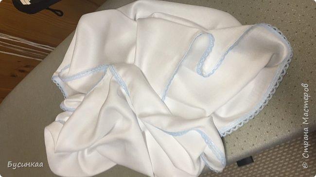 Крещение, важное событие в жизни православного человека, а Крестильная рубашечка, это символ чистоты души. Эту рубашечку я сшила для своего любимого внука, шила с особым трепетом и любовью. фото 5