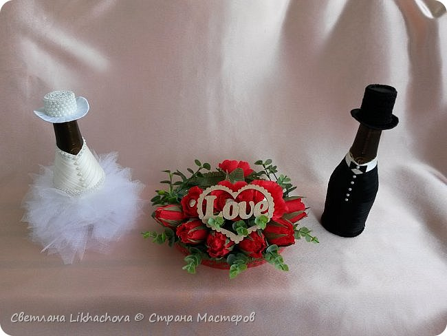 Подарок на свадьбу. Жених и невеста фото 2