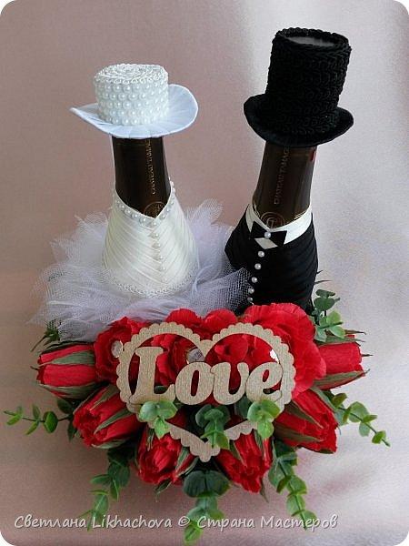 Подарок на свадьбу. Жених и невеста фото 1