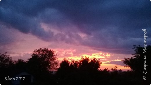 Закаты мая завораживают фото 8