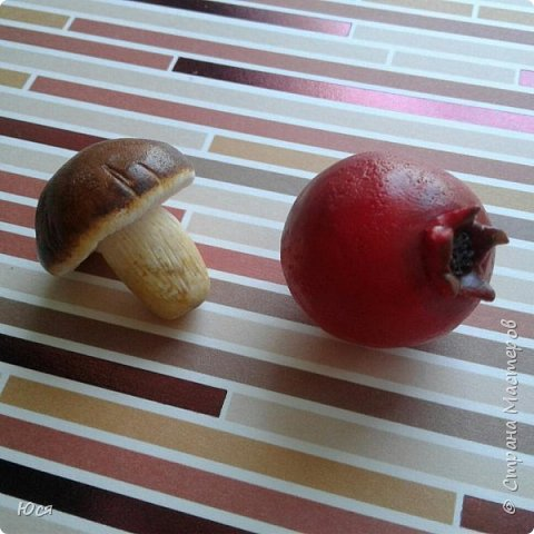 """Такие """"вкусные""""овощи и фрукты слепились у меня для маленького Демида.Всего 40 штук. фото 4"""