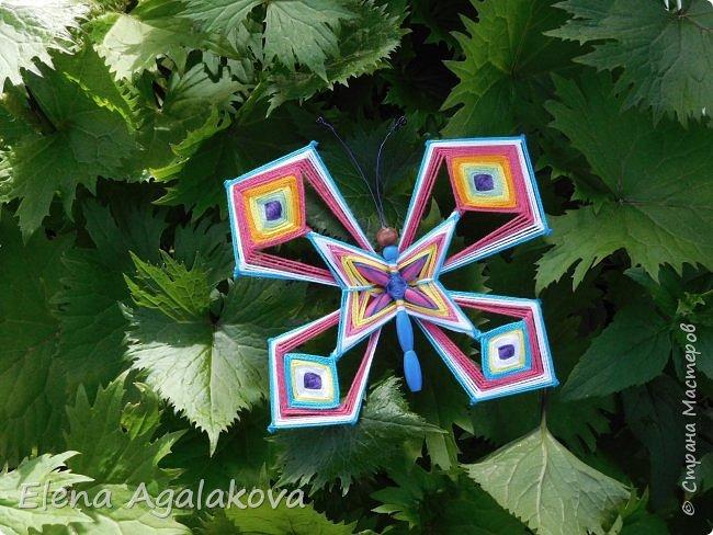 Потянуло меня наплести мандал бабочек. Бабочка — символ души, бессмертия, возрождения и воскресения, способности к превращениям, к трансформации, символ жизни, любви и счастья. Бабочки очень гранциозные создания! А как чудесно они смотрятся рядом с цветами! фото 2