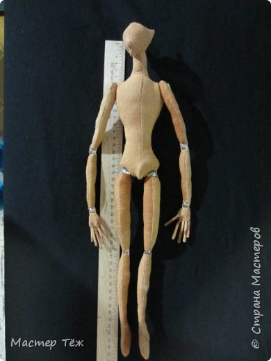 Я часто делаю просто заготовки для кукол, т.к. не всегда их образ подходит для моей работы. К примеру этих парней я сделал аж 4х, один остался у меня и стал Грином, прочие нашли приют у других. фото 22