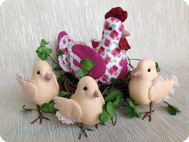 Курочки и цыплята  шились просто так  - в момент хорошего настроения. Но сразу же, практически все,  нашли свой новый дом ) фото 4