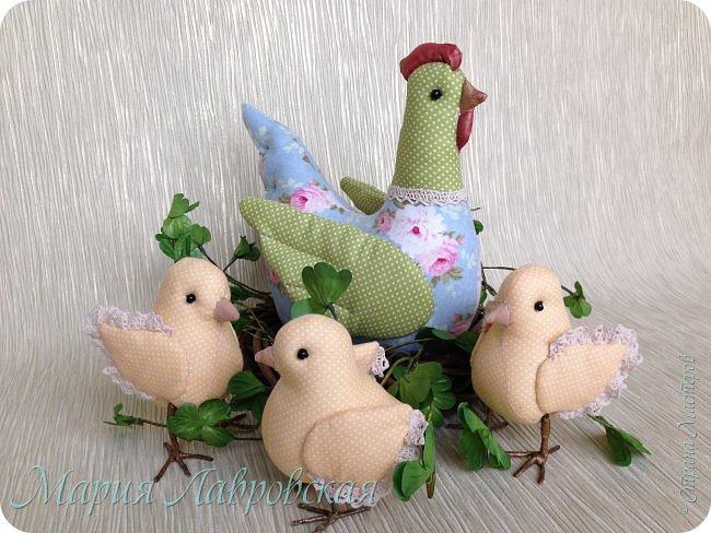 Курочки и цыплята  шились просто так  - в момент хорошего настроения. Но сразу же, практически все,  нашли свой новый дом ) фото 7