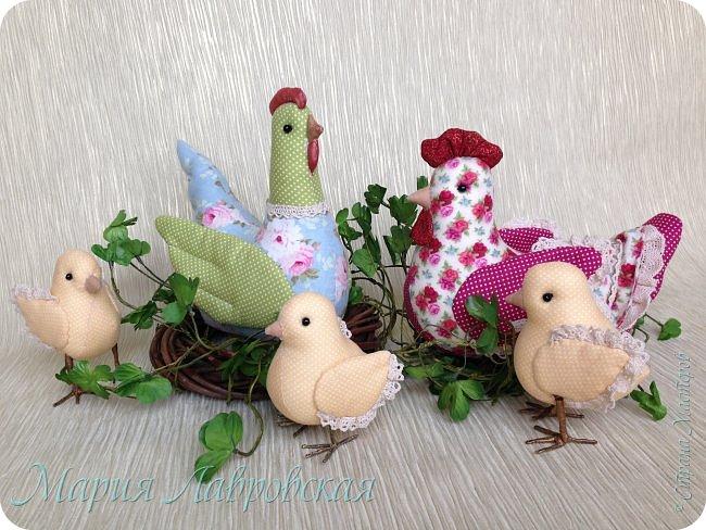 Курочки и цыплята  шились просто так  - в момент хорошего настроения. Но сразу же, практически все,  нашли свой новый дом ) фото 1