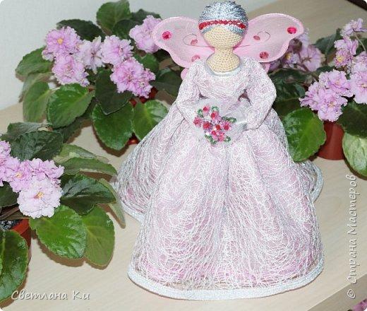 Это моя первая фея -- розовая. фото 1