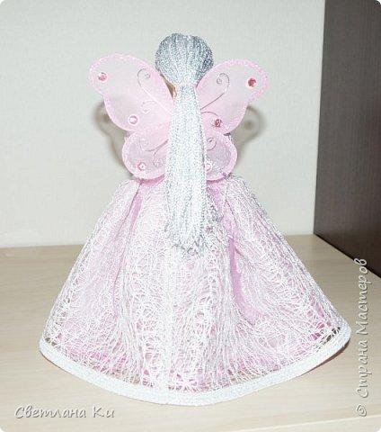 Это моя первая фея -- розовая. фото 2