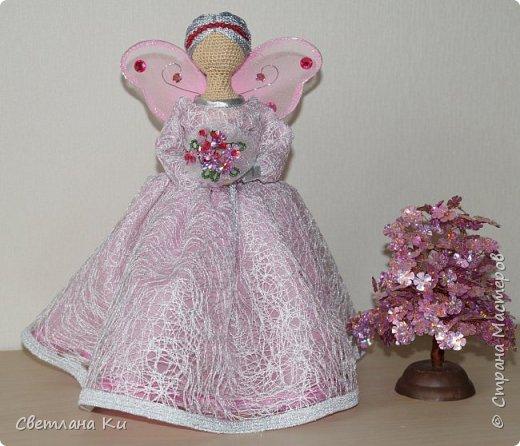Это моя первая фея -- розовая. фото 3