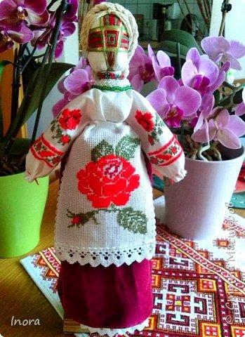 В компании моих кукол пополнение - мотанка Берегиня фото 1