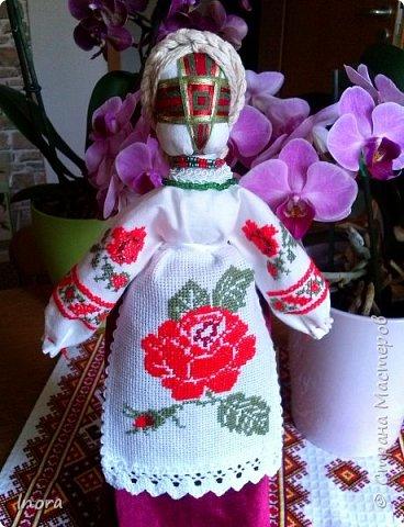 В компании моих кукол пополнение - мотанка Берегиня фото 2
