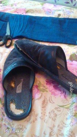 """Дошли руки разобрать старую обувь и вот такие """"крокодилы"""" попали мне на глаза) Дальше все просто: разделяю на запчасти и вырезаю по ним шаблоны фото 1"""