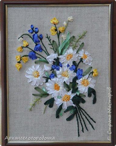 Вышивка лентами Буториной Вари, 12 лет фото 2
