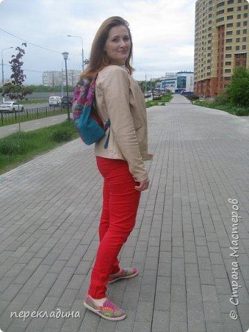 """Летний рюкзак """"Палитра"""" фото 3"""