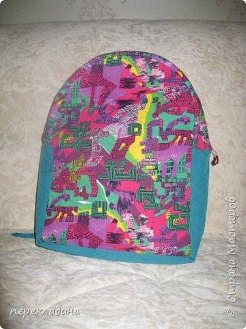 """Летний рюкзак """"Палитра"""" фото 1"""