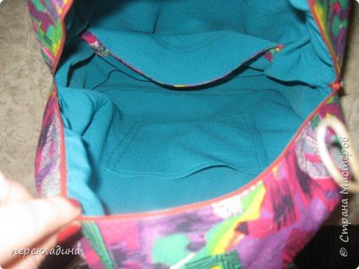 """Летний рюкзак """"Палитра"""" фото 4"""