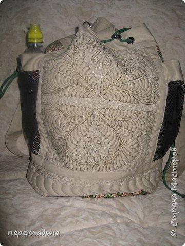 Летний рюкзак фото 1
