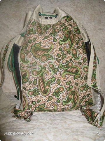 Летний рюкзак фото 3
