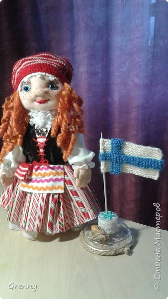 Это наша финская кукла Берта фото 2