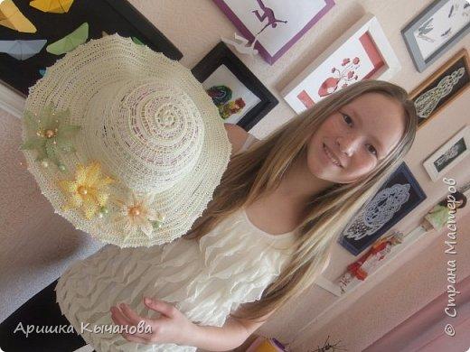 Хочу поделиться с вами своей авторской кружевной шляпкой. фото 2