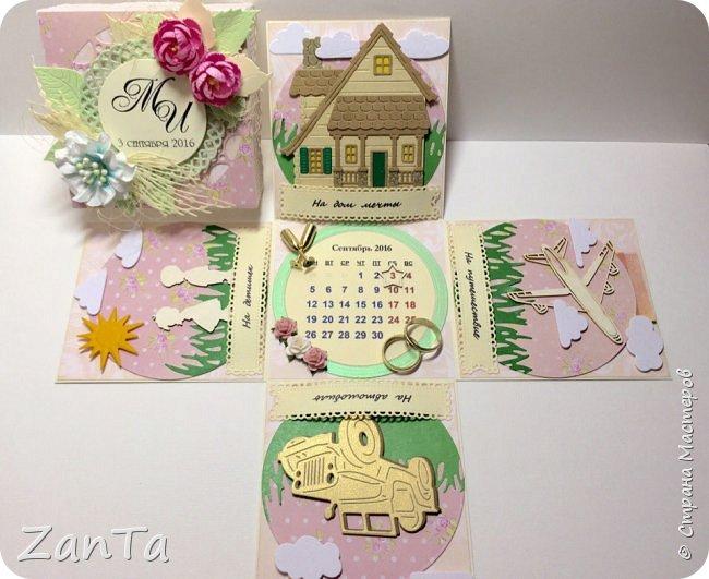 В этом посте покажу коробочки, которые у меня сотворились. Это Magic box на рождение принцессы. фото 11
