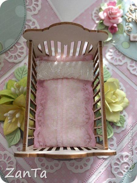 В этом посте покажу коробочки, которые у меня сотворились. Это Magic box на рождение принцессы. фото 5