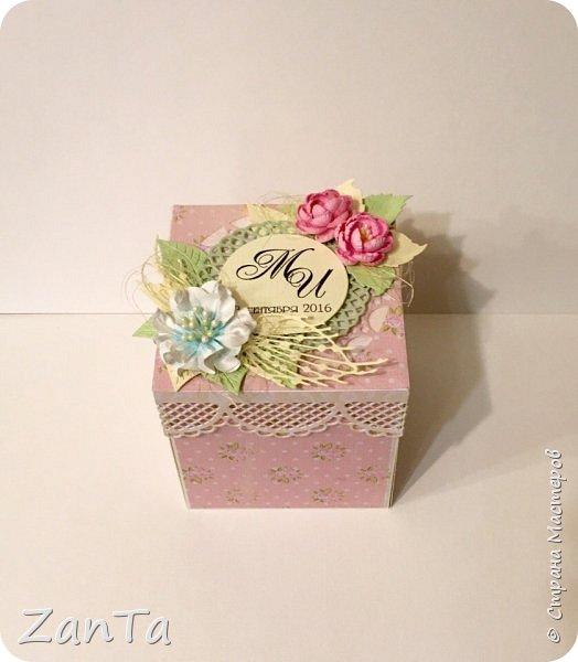В этом посте покажу коробочки, которые у меня сотворились. Это Magic box на рождение принцессы. фото 10